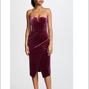 Velour allure dress by Yumi Kim